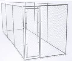 Lucky Dog Outdoor Heavy Duty Chainlink Pet Kennel