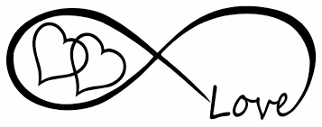 Free Love Heart Infinity Forever Symbol Vinyl Decal Car Window Bumper Sticker Family Stickers Listia Com Auctions For Free Stuff