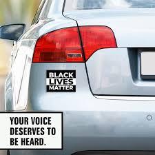 Black Lives Matter Bumper Sticker Black Lives Matter Car Etsy