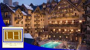 luxury hotels four seasons vail co