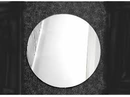 round wall mirror self adhesive