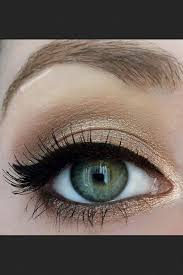 prom makeup ideas for green eyes