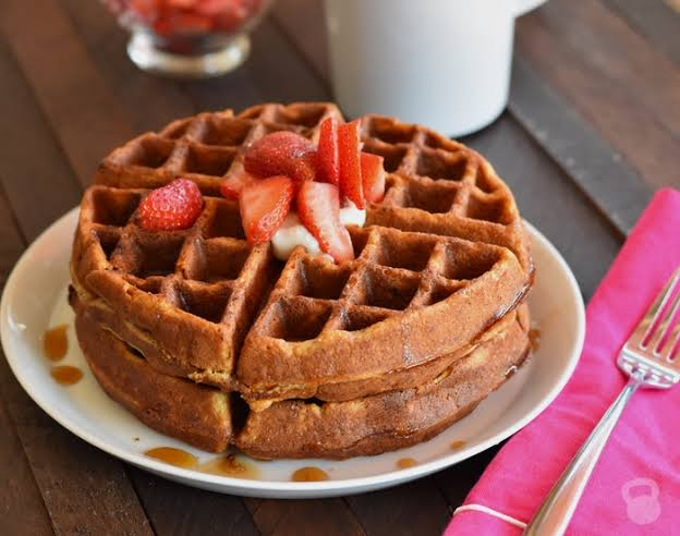 Image result for Sweet potato waffles""