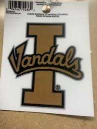 Idaho Vandals Logo Static Cling Decal New Window Of Car Ebay