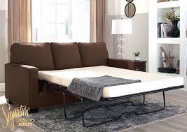 zeb sleeper sofa brown full size