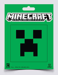 Minecraft Creeper Face Sticker Decal Walmart Com Walmart Com