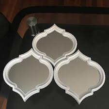 art deco arched wall mirrors wall art