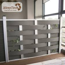 China Insect Resistance Woven Design Wpc Fence For Garden China Fencing For Villa Garden Fence