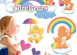 Care Bear Wall Stickers Empat Sticker Independence