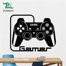 Video Gamer Custom Name Vinyl Wall Decal Sticker With Xbox One Controller Christmas Ornament