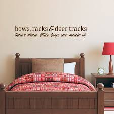 Bows Racks Deer Tracks Wall Decals Wall Art Wall Murals