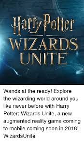 harry potter wizards unite quotes news popcorn