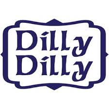 Top Left Industries Dilly Dilly Calligraphy Font Bud Light Inspired Vinyl Decal Sticker