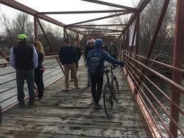 greenbelt bridge linking garden city to