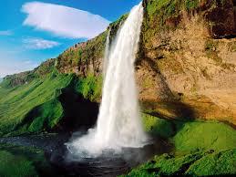 nature wallpaper waterfalls