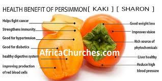 nutrition benefits of persimmon kaki