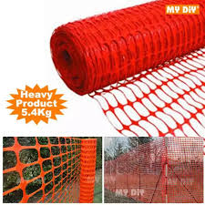 My Diy Reflective Safety Netting Reflective Plastic Safety Construction Netting Orange Plastic Safety Mesh Fence Net 1 X 50 Meter Lazada