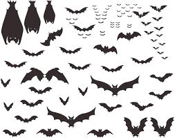 Amazon Com Mozamy Creative Halloween Bats Wall Decals Halloween Decor Black Bats Decals Halloween Decorations Arts Crafts Sewing