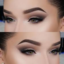 eye makeup for black prom dress
