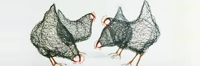 Soar Your Creativity With These Chirpy Birds Made From Wires ...