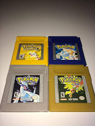 Amazon.com: Game Boy Pokemon Version Game Set (6) Yellow, Red, Blue,  Crystal, Silver and Gold) - NEW BATTERIES PROFESSIONALLY INSTALLED: Video  Games