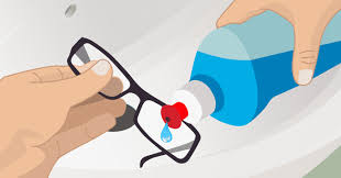 8 steps to clean eyeglasses and 5