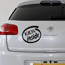 Empireying 3 Sizes 8 Colors Exquisite Hand Carved Word Art Kids Inside Car Sticker Motorcycle Laptop Cover Vinyl Decal Gifts Car Stickers Aliexpress