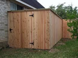 6 Cedar Fence With Cap Rail Cedar Fence Easy Fence Fence Decor