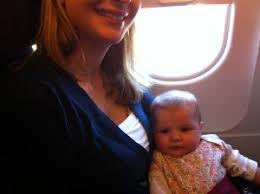 tips for flying with a 3 month old baby