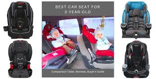 best car seat for 3 year olds in 2020