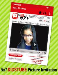 Image 0 Youtube Invitaciones Tematica