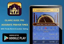 Islamic Guide Pro Free Android App that indicates the accurate prayer  times, Very beauiful Free islamic Android App, install & share i… | App,  Prayer times, Prayers