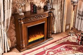 china freestanding electric fireplace