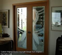 glass door designs for living room at