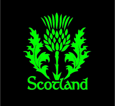 Scotland Thistle Decal Custom Celtic Heritage Vinyl Car Truck Window Sticker Truck Window Stickers Custom Vinyl Decal Scotland