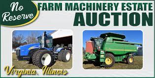 no reserve farm machinery