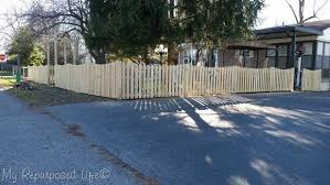 Pickets And Jig Diy Picket Fence My Repurposed Life Rescue Re Imagine Repeat