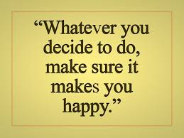 happiness is to make right decision goluputtar