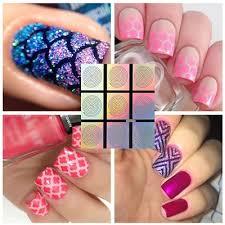qoo10 9 tips sheet swirl nail vinyls