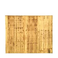 garden close boarded fence panel 4ft