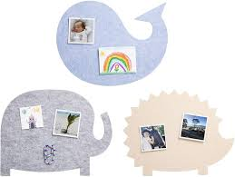 Amazon Com Nooske Felt Pin Boards For Kids Decorative Display Boards For Pictures Notes Artwork Memo Wall Accessories For Child S Bedroom Or School Classroom With 12 Push Pins And Adhesive