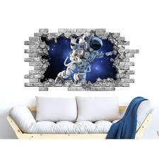 Shop Astronaut Wall Decal Outer Space Vinyl Sticker Murals Overstock 31576843