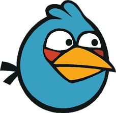 Angry Birds Blue Bird Decal House Of Grafix
