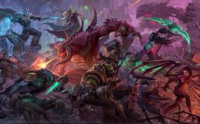 heroes of the storm wallpapers hd