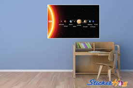 Solar System Educational Vinyl Wall Decal