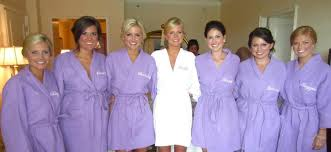 bridal party robes fashion dresses