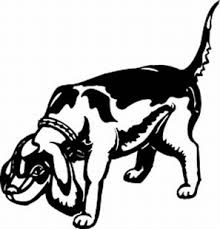 Beagle Vinyl Decal