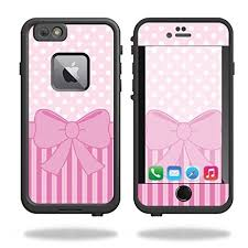 Mightyskins Protective Vinyl Skin Decal For Lifeproof Fre Iphone 6 Plus 6s Plus Case Wrap Cover Sticker Skins Pink Present Wish
