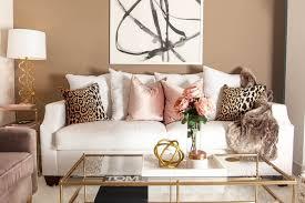 chic modern living room interior paint