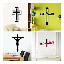 Cross Jesus God Lord Bless Church Christmas Arts Wall Sticker Home Decals Wall Decor For Home Decoration Kids Rooms Wallpaper Wall Decor Decorations For Homestickers Home Aliexpress